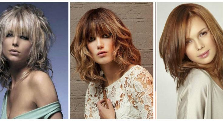 Молодёжные причёски на средние волосы